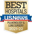 Michigan Medicine Pulmonology is a nationally ranked specialty by US News & World Report 2021-22.