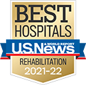 Michigan Medicine Rehabilitation Medicine is a nationally ranked specialty by US News & World Report 2021-22.