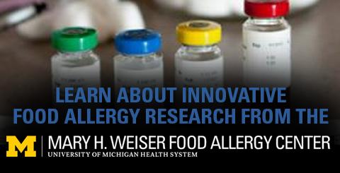 Mary H. Weiser Food Allergy Center