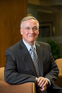 U-M Medical School former dean James O. Woolliscroft, M.D.