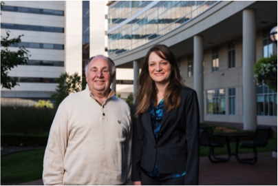 Photo of Drs. Baker and Leja