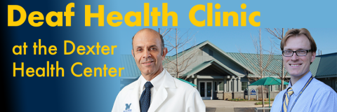 Deaf health clinic at the dexter health center