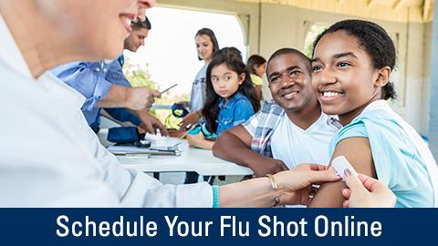 Schedule Your Flu Shot On Line