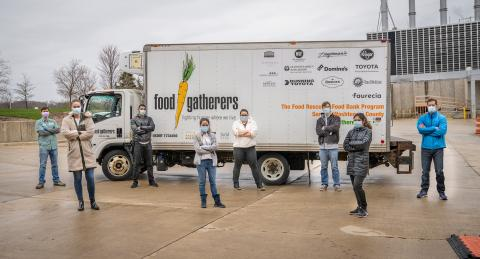 Food gatherers truck