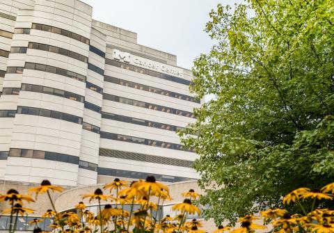 Rogel Cancer Center building
