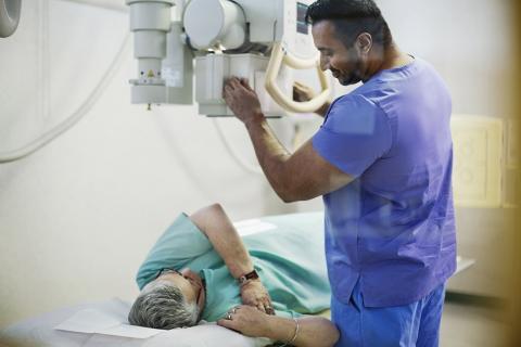 Medical imaging scan