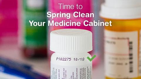 Spring cleaning medicine