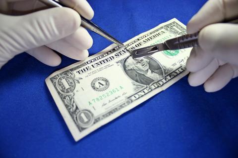 Surgery on a dollar