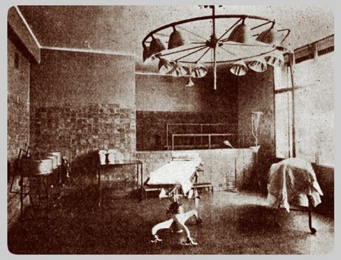 Old Main operating room