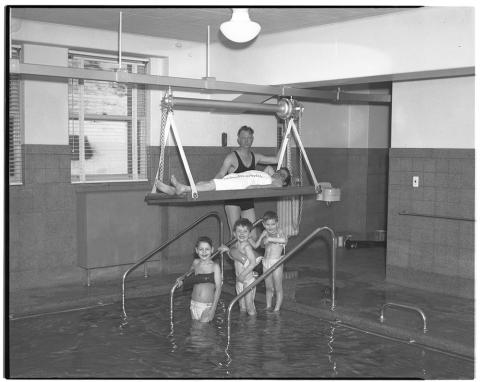 Polio patients pool
