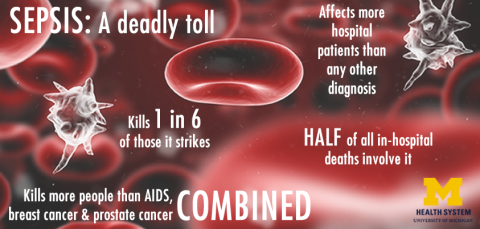 Sepsis infographic