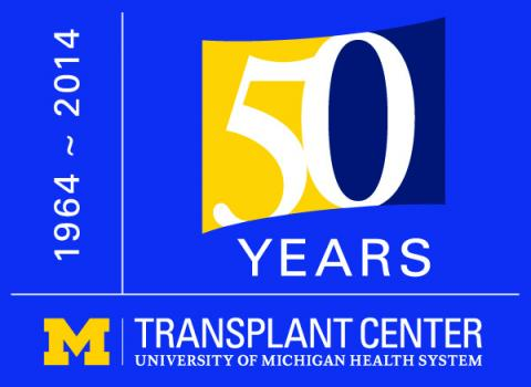 June 1st, Transplant Center's 50th Anniversary