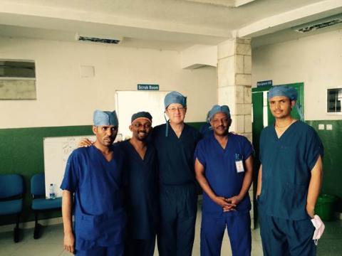 U-M, Ethiopia transplant team