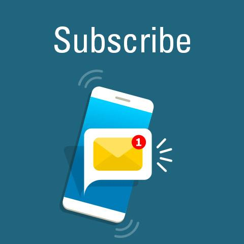 Subscribe to COVD-19 update emails