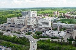 University Hospital Aerial View