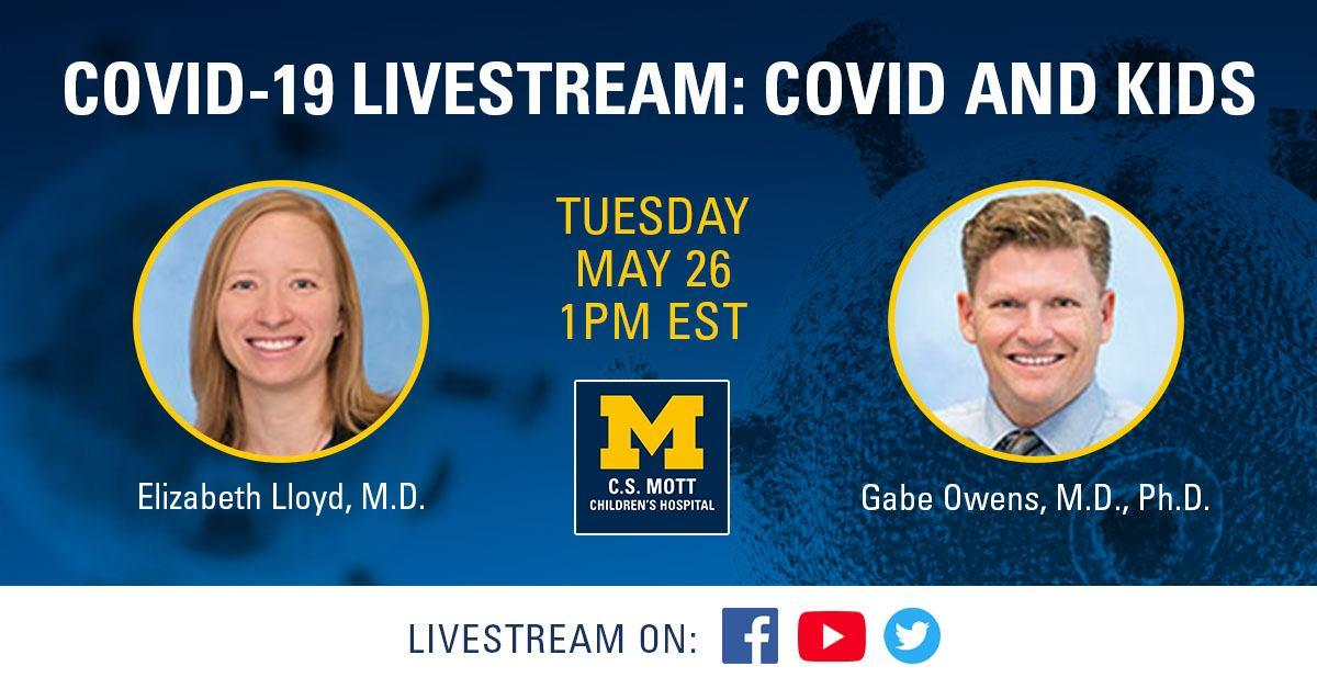 COVID and Kids livestream
