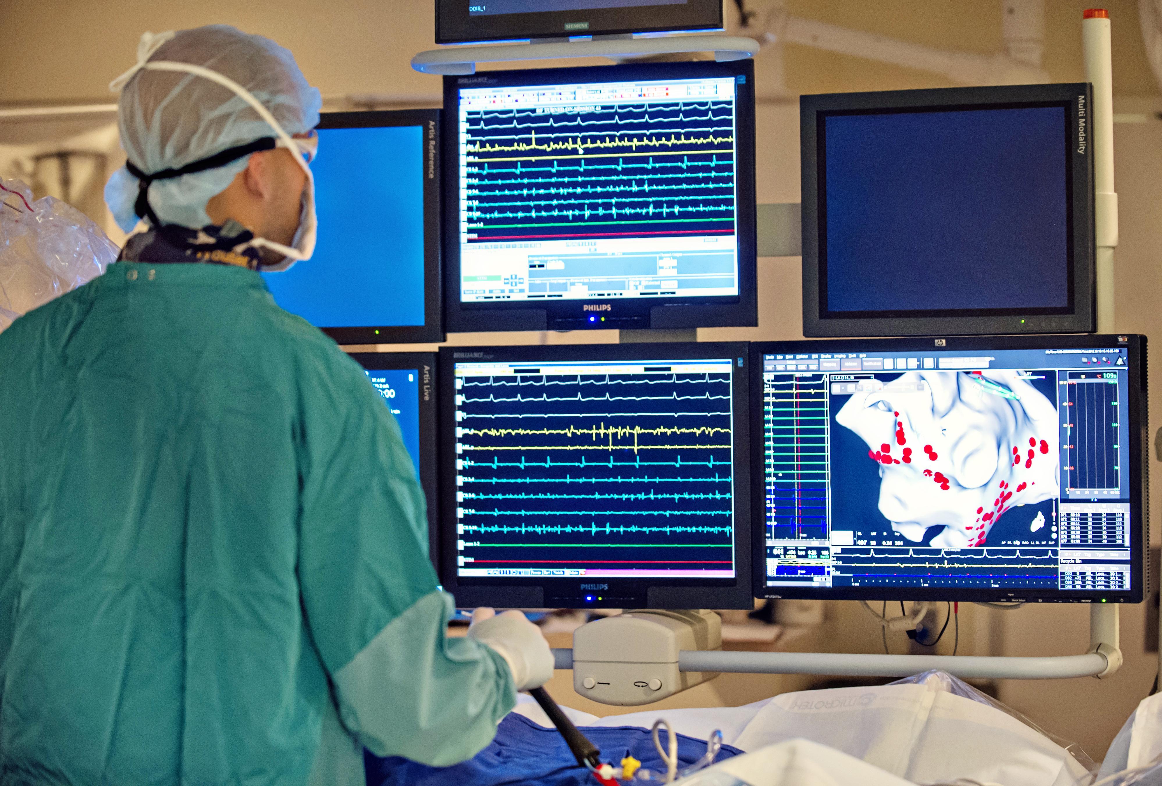 Electrophysiology lab