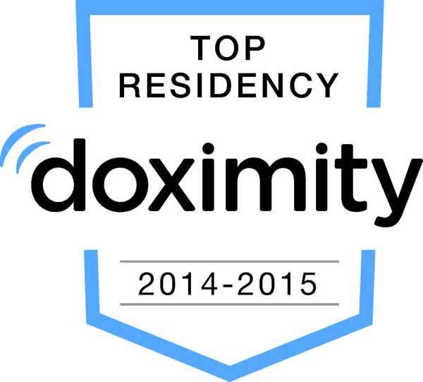 Doximity residency ranking