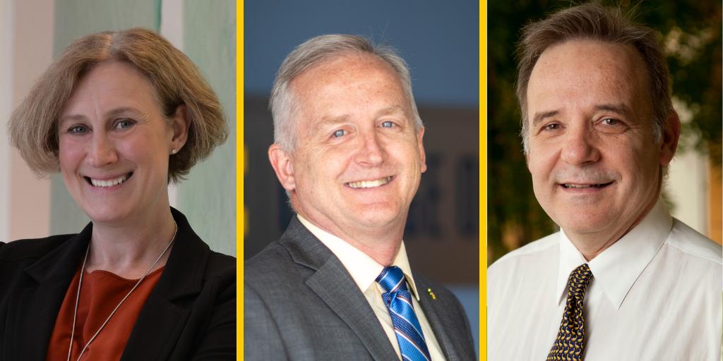 Drs. Rebecca Cunningham, James Dalton and Gabriel Nunez