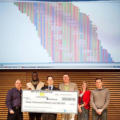 Pathology team accepts innovation prize