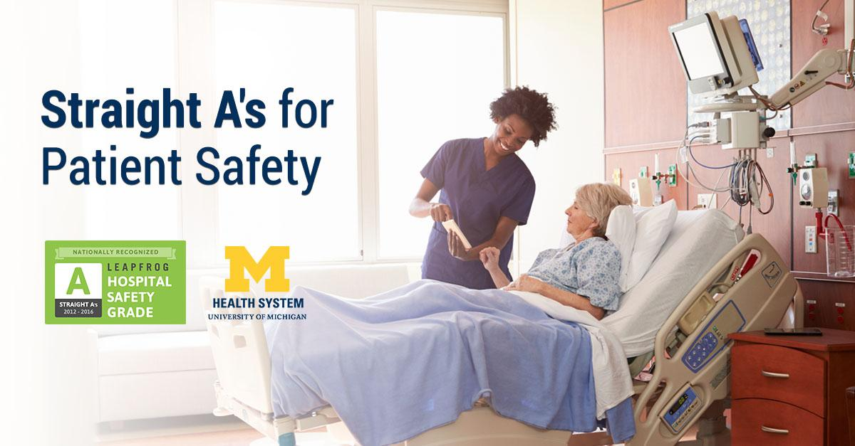 Straight A's for patient safety