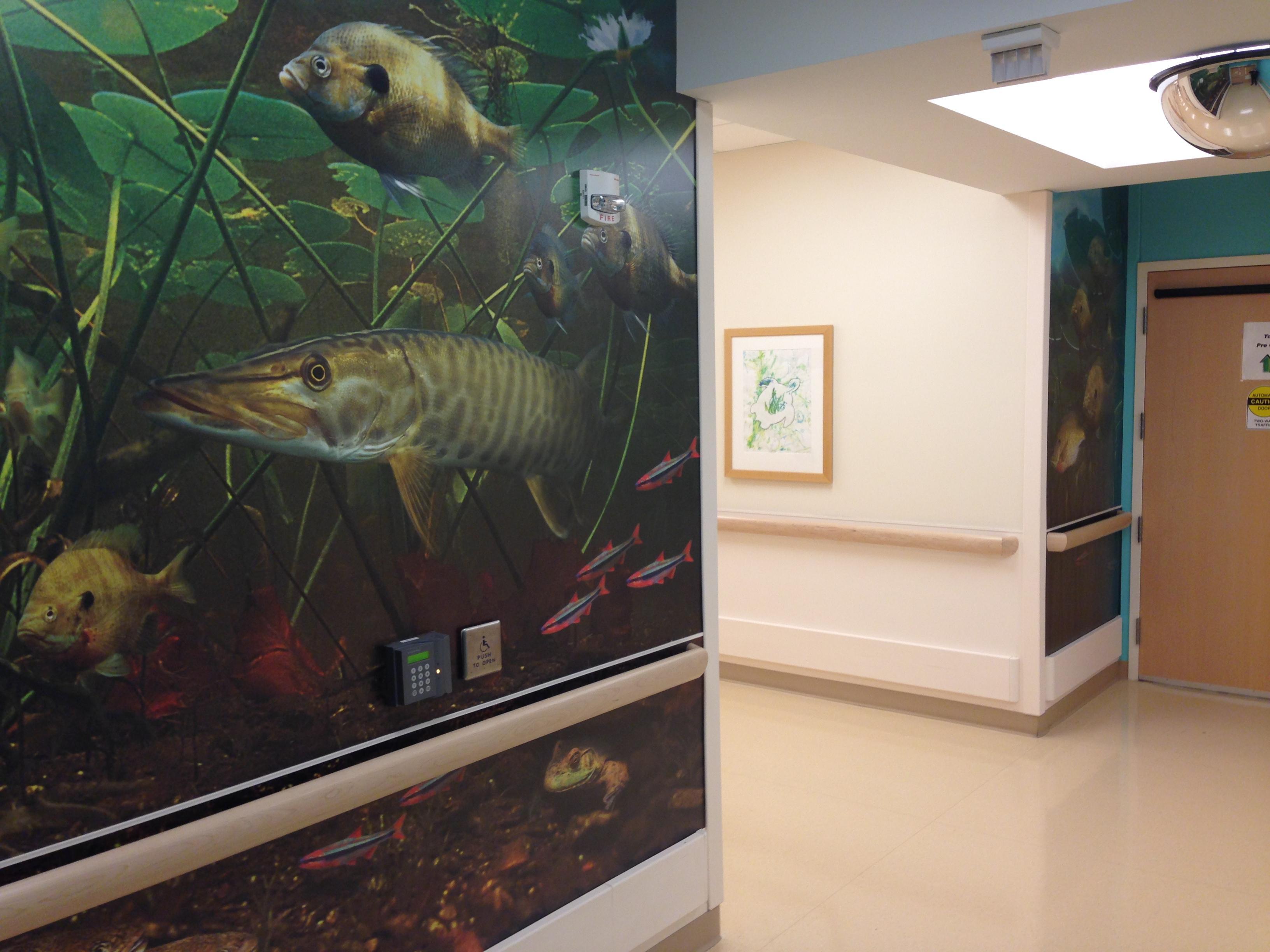 Mural at C.S. Mott Children's Hospital
