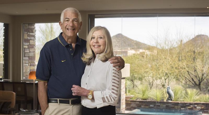 Richard and Susan Rogel
