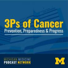 3Ps of Cancer podcast graphic