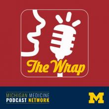 The Wrap podcast graphic